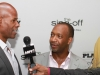 Keenan Ivory Wayans being interviewed at the African Black Film Festival