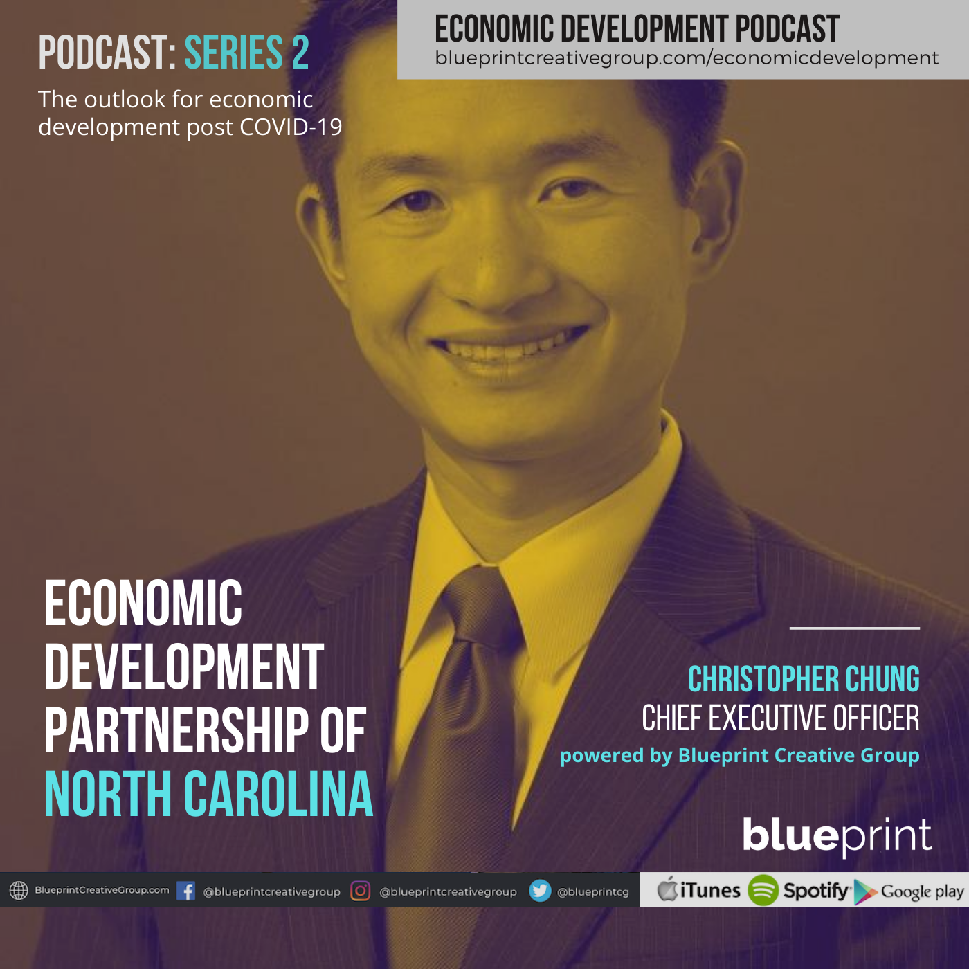 Chris Chung, Economic Development Partnership of North Carolina